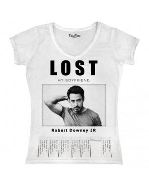 t shirt lost robert d