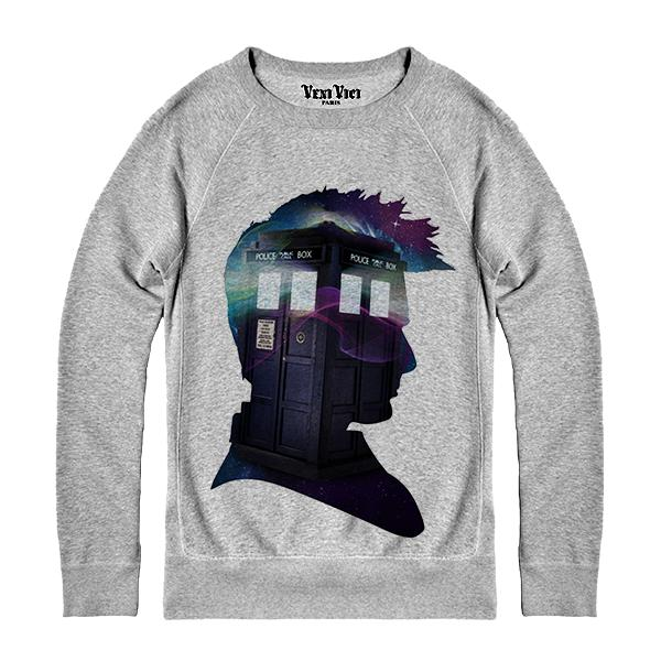 SWEAT DOCTOR WHO TARDIS **