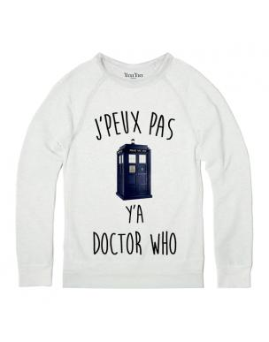 SWEAT J PEUX PAS Y A DOCTOR WHO **