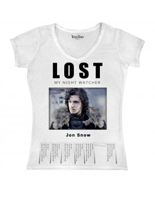 Lost Jon Snow