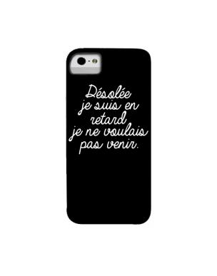 coque iphone 6 retard