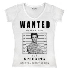 Wanted Barry Allen