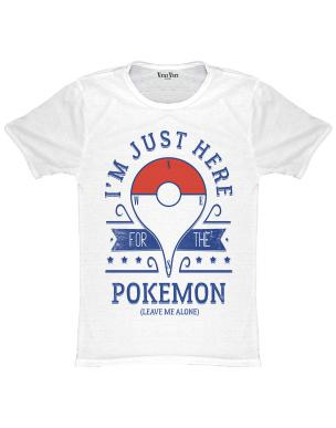 f07f33bc ** T-SHIRTS I M JUST HERE FOR THE POKEMON **